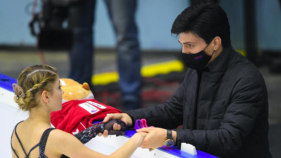 Итальянский фигурист оценил шансы Розанова уйти от Плющенко и закрепиться в Европе
