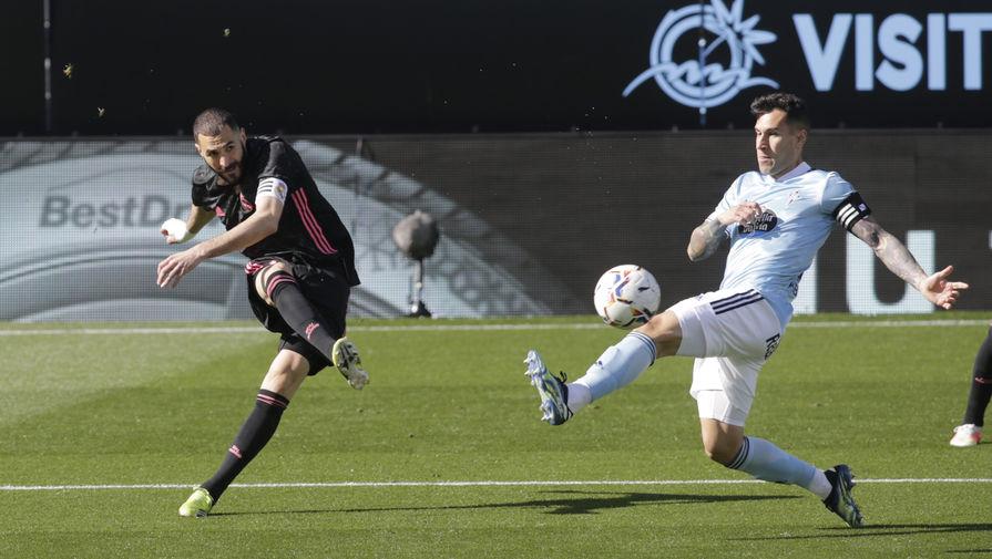 'Реал' в гостях переиграл 'Сельту' и сократил отставание от 'Атлетико'