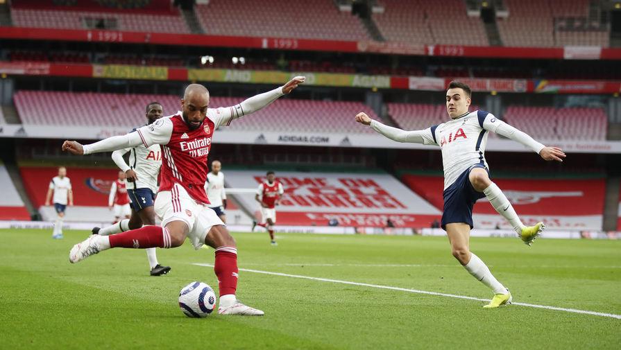 'Арсенал' обыграл 'Тоттенхэм' в лондонском дерби