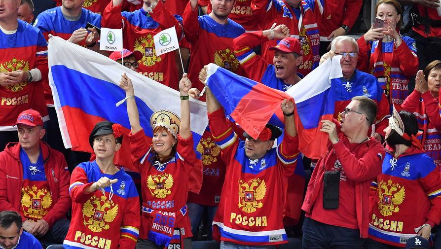 Болельщик сборной Финляндии оскорбил россиян во время матча МЧМ-2021