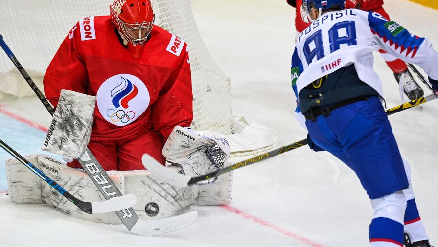 Самонов признан лучшим игроком сборной России в матче против Дании