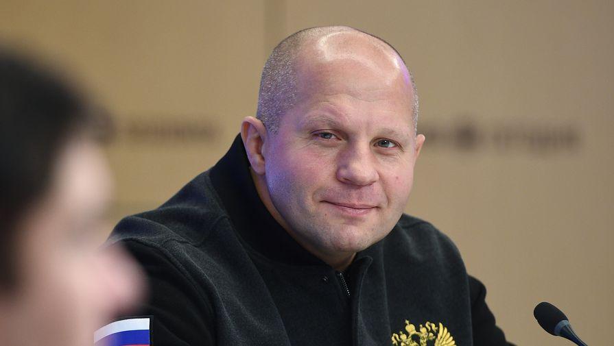 Федор Емельяненко выпал из рейтинга тяжеловесов Bellator