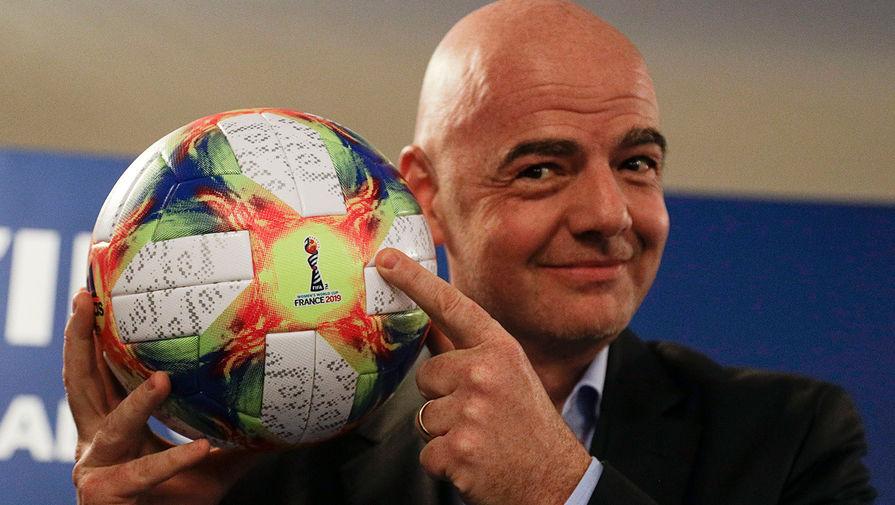 Президент ФИФА выступил против санкций по отношению к участникам Суперлиги