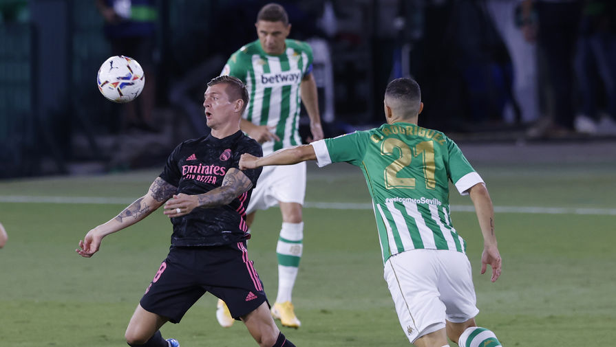 'Реал' не смог дома обыграть 'Бетис' в матче чемпионата Испании