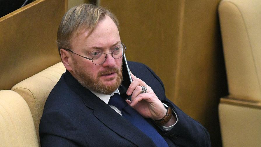 Депутат Милонов вступился за Шнурова после слов бойца Олейника о нем