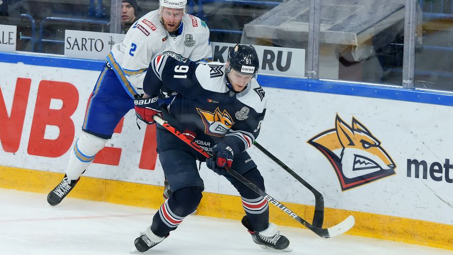 'Металлург' обыграл 'Барыс' и вышел в следующий раунд плей-офф КХЛ