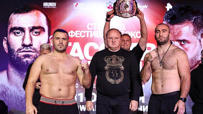 Албанскому боксеру потребовалась медицинская помощь после боя с Гассиевым