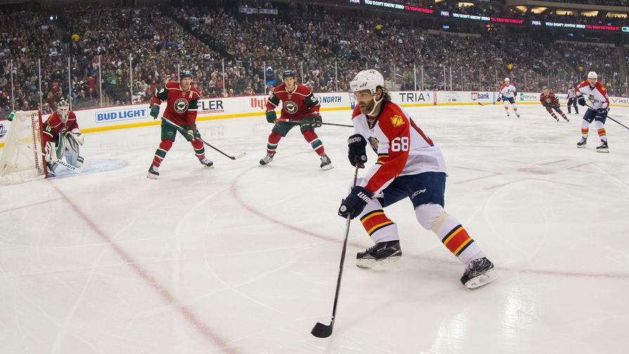 'Флорида' без Боровского обыграла 'Чикаго' в матче НХЛ