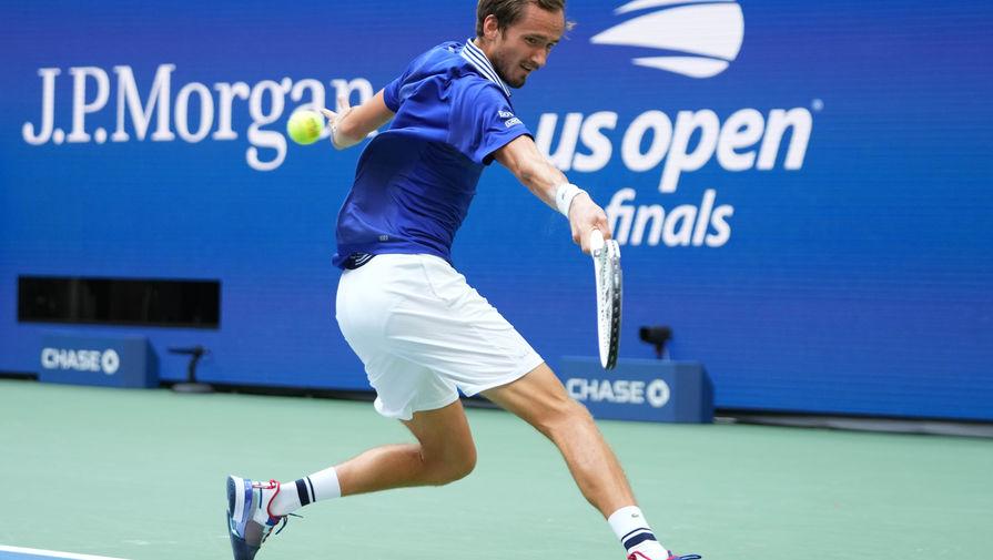 Медведев объяснил необычное празднование после победы на US Open