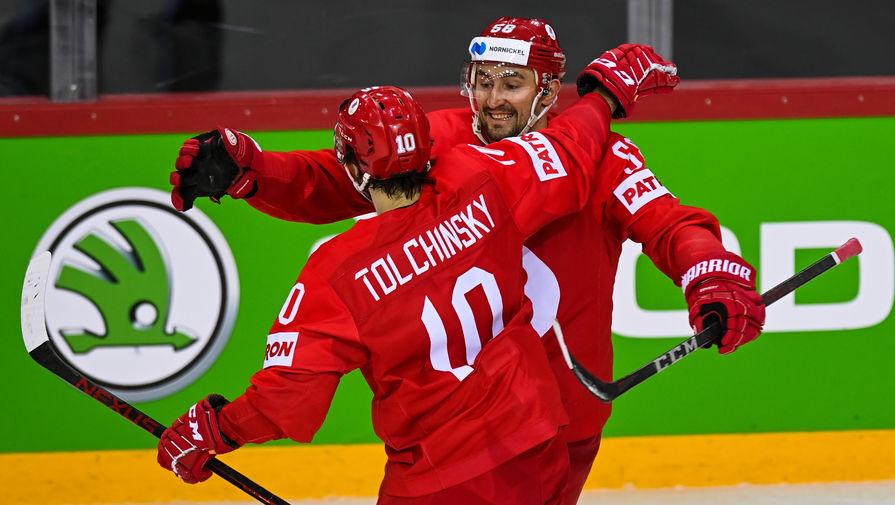 Слепышев признан лучшим игроком в составе России в матче против Швеции