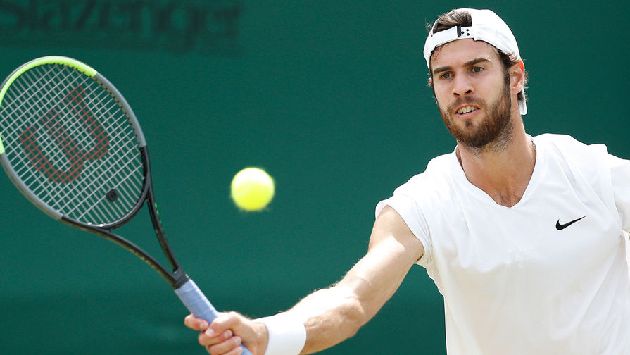 Теннисист Хачанов вышел в полуфинал Игр, где может сыграть с Медведевым