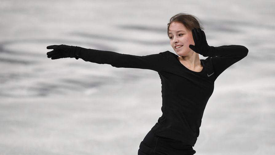 Щербакова стала чемпионкой мира по фигурному катанию