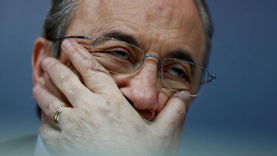 73-летний президент 'Реала' вылечился от коронавируса