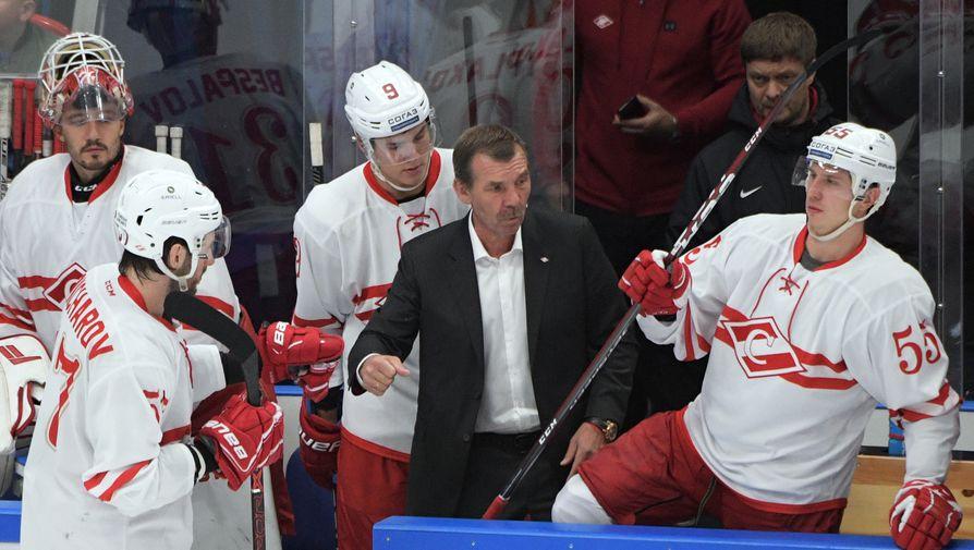 'Спартак' проиграл 'Автомобилисту' и прервал победную серию в КХЛ