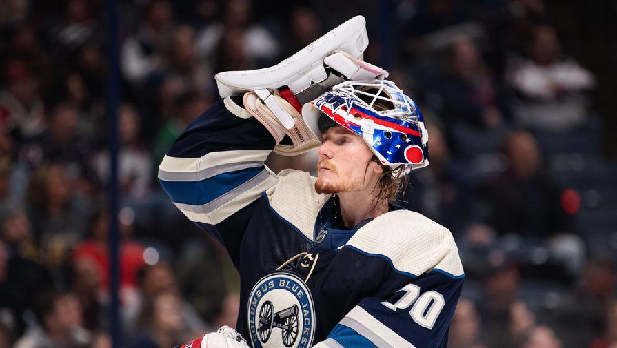 'Коламбус' Гаврикова нанес поражение 'Детройту' в НХЛ