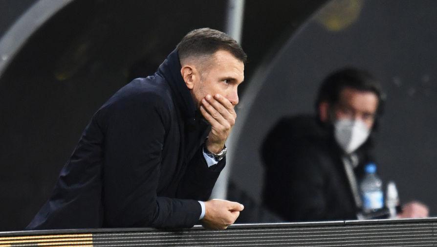 Шевченко ушел с поста главного тренера сборной Украины