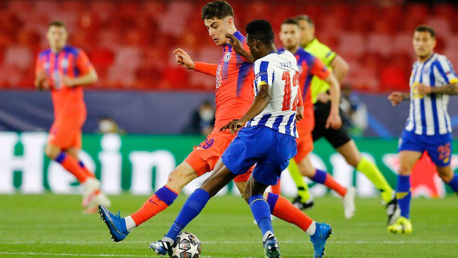 'Челси' со счетом 2:0 обыграл 'Порту' в первом четвертьфинале ЛЧ