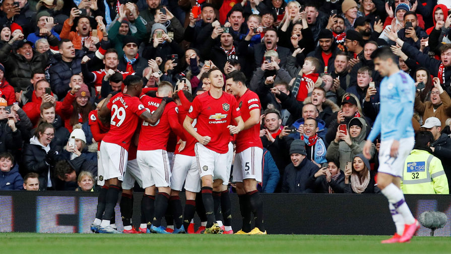 'Манчестер Юнайтед' и 'Манчестер Сити' сыграли вничью в матче АПЛ