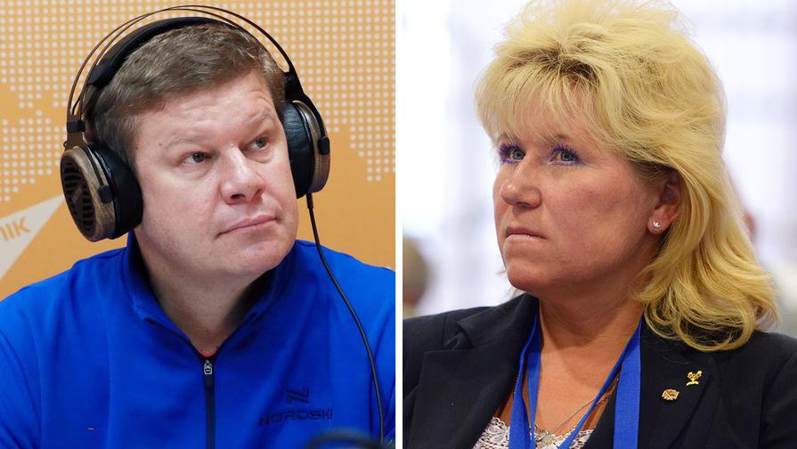 Губерниев отреагировал на слова олимпийской чемпионки о вынужденном аборте