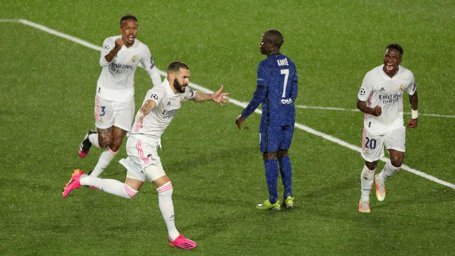 Бензема вышел на четвертое место по голам в Лиге чемпионов