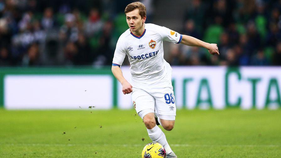 Полузащитник ЦСКА поделился впечатлениями от дебюта за сборную России