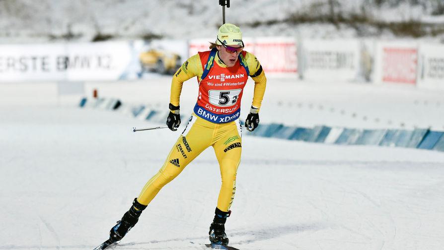 Шведский биатлонист Самуэльссон порадовался победе над Латыповым