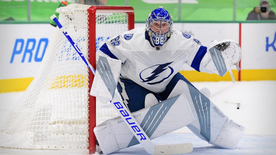 Василевский признан лучшим голкипером среди участников плей-офф НХЛ