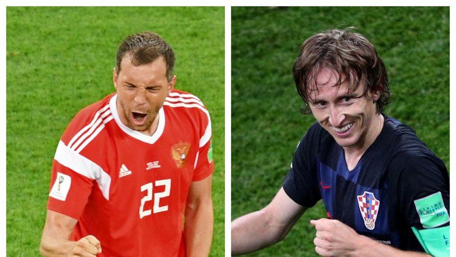 Булыкин рассказал, как повлияет на игру России и Хорватии отсутствие Дзюбы и Модрича