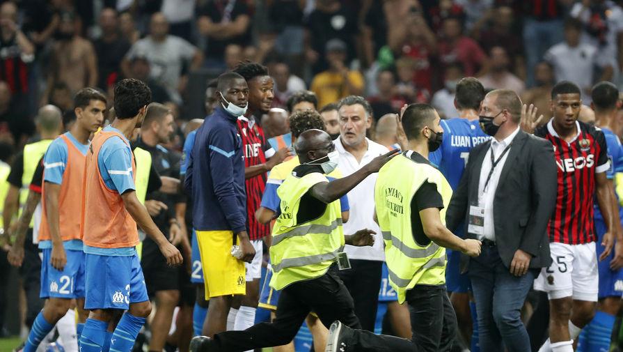 Министр спорта Франции прокомментировала драку в матче 'Ницца' - 'Марсель'