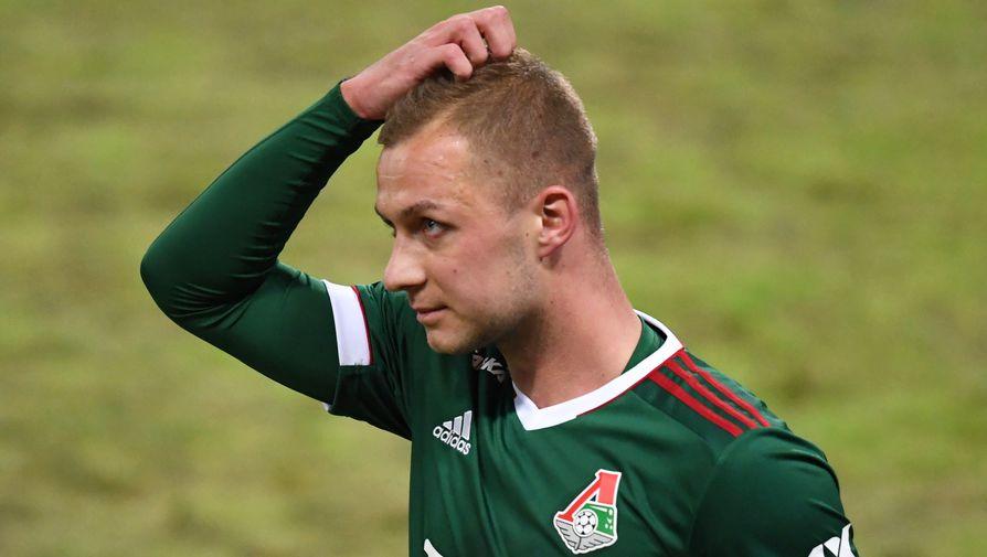 Баринов не смог продолжить матч с Болгарией из-за травмы