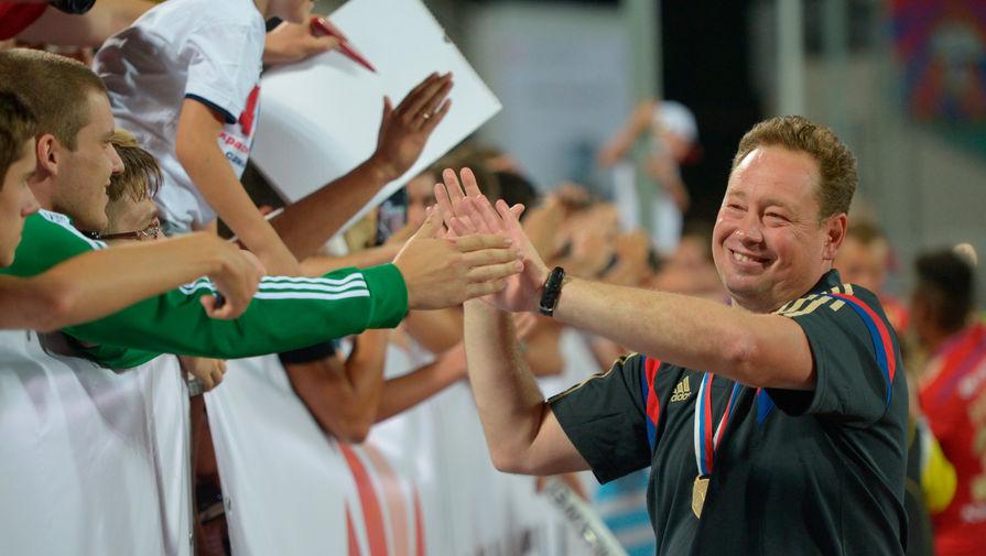 Слуцкий: Макаров заслужил место в составе сборной России