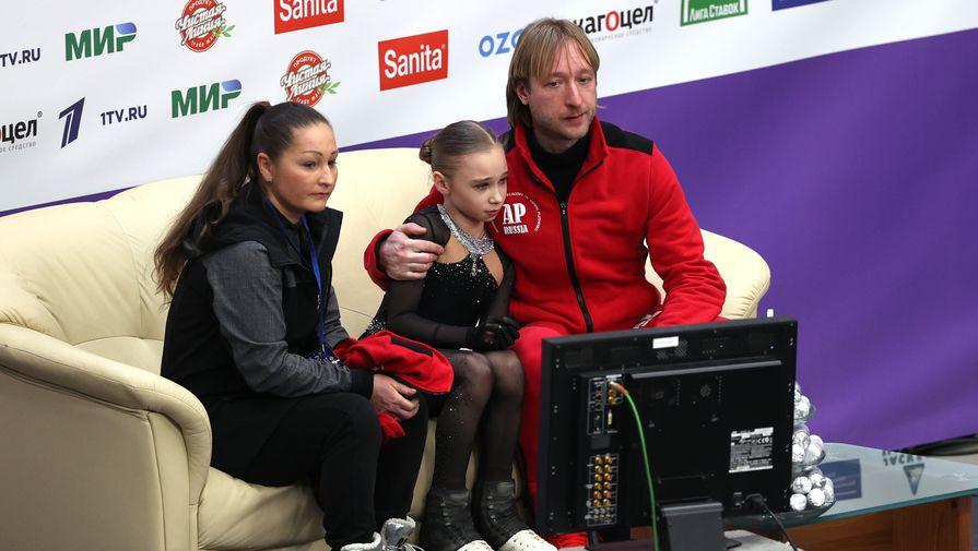Ученица Плющенко сделала четыре акселя за 30 секунд: видео