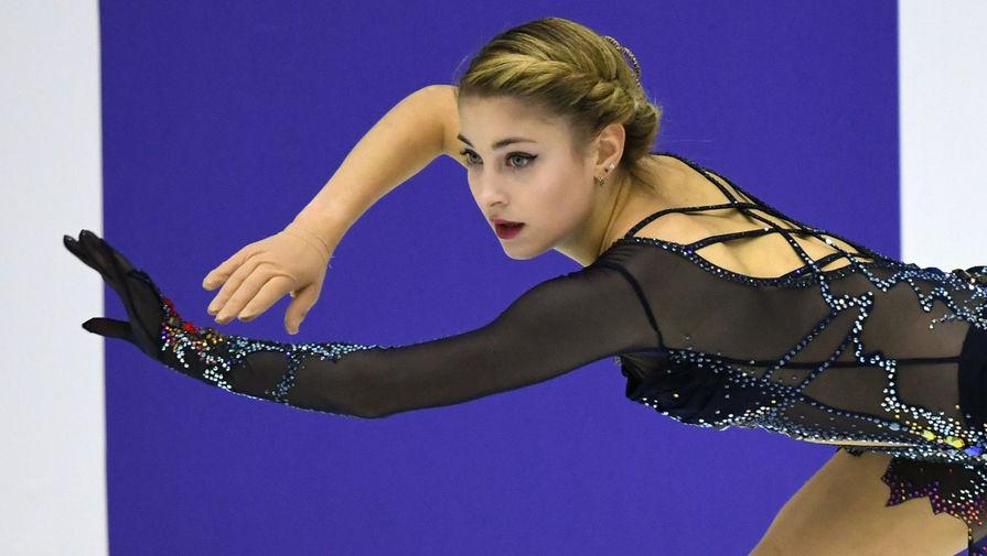Косторная выиграла короткую программу на Гран-при России