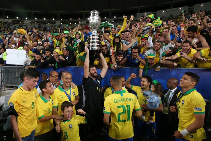 Сборная Бразилии может бойкотировать Кубок Америки