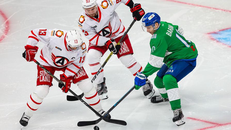 'Салават Юлаев' одержал победу над 'Автомобилистом' в матче КХЛ