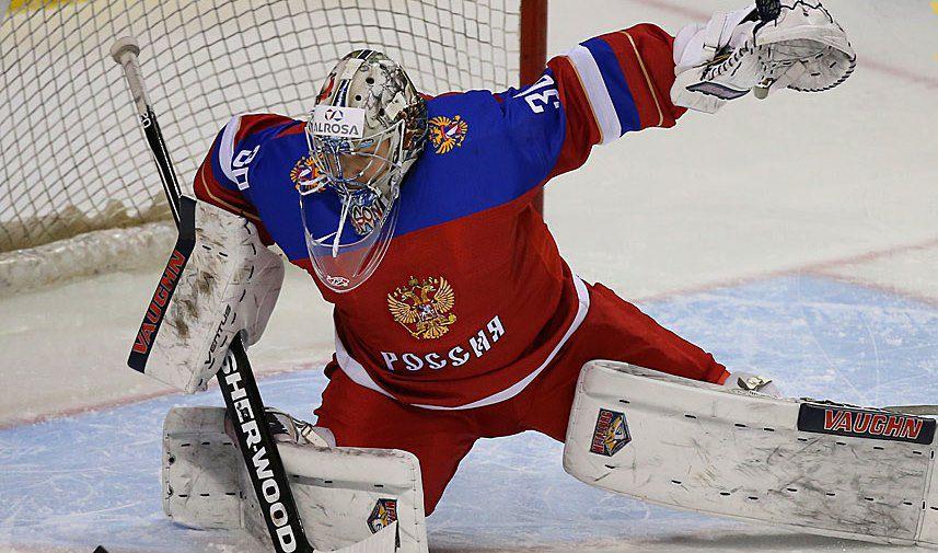 Назван состав сборной России на матч со Швецией на Еврохоккейтуре