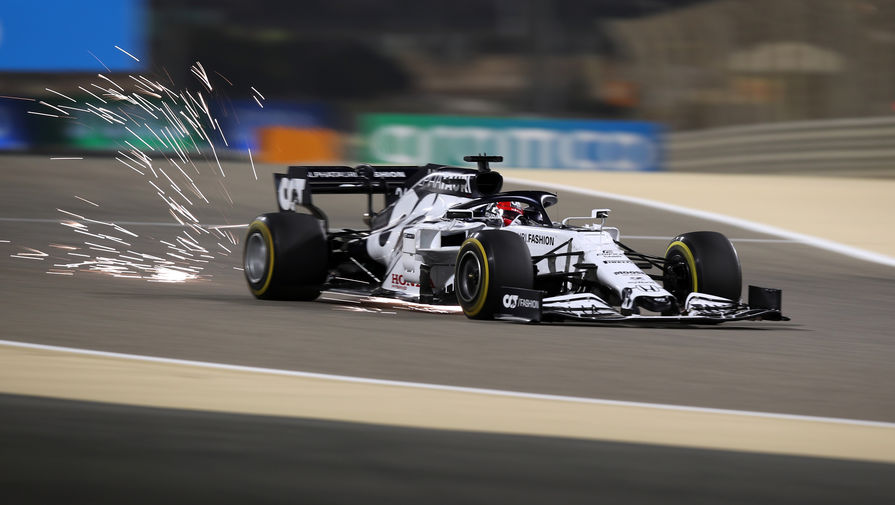 Квят прокомментировал итоги практики Гран-при Сахира
