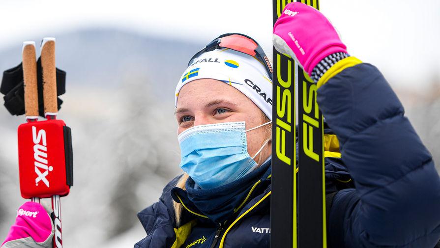Линн Сван сдала положительный тест на коронавирус на 'Тур де Ски'