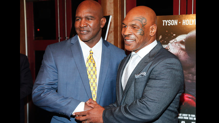 Тайсон анонсировал боксерский поединок против Холифилда