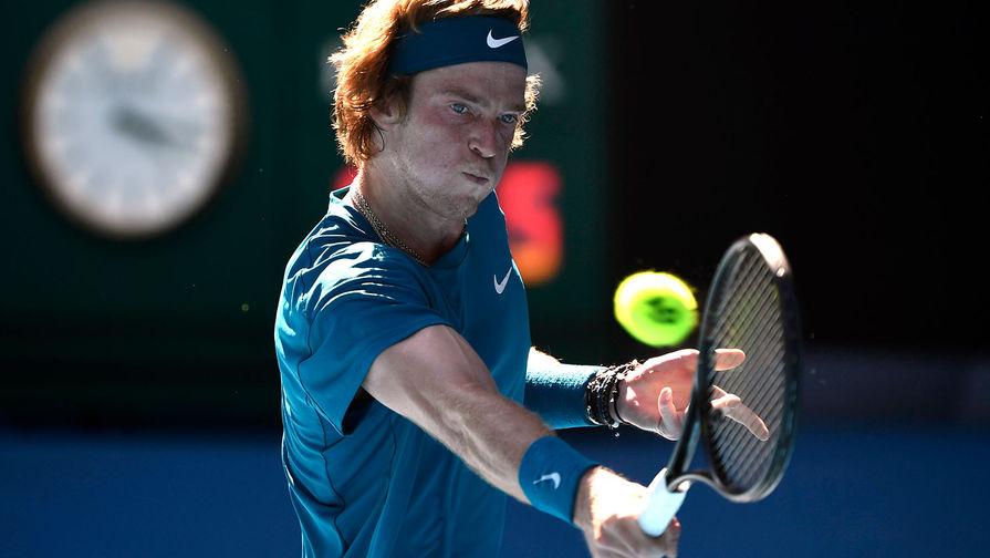 Андрей Рублев вышел в четвертьфинал турнира в Монте-Карло