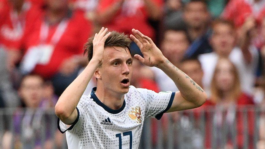 Жулин заявил, что футболист сборной России Головин мог бы стать неплохим фигуристом