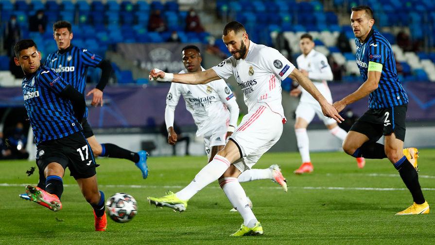 Бензема забил 70-й мяч в Лиге чемпионов