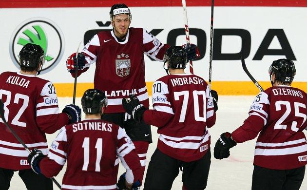 Латвия по буллитам проиграла Норвегии в рамках ЧМ-2021