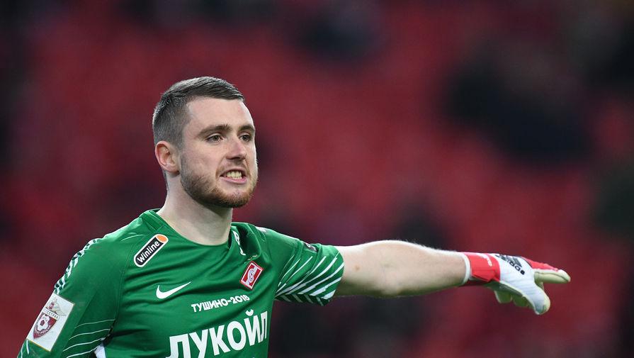 Вратарь 'Спартака' Селихов расплакался после матча с 'Арсеналом'