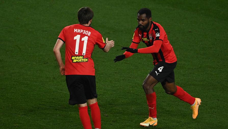 Мирзов пропустит игру с 'Арсеналом' из-за плохого самочувствия