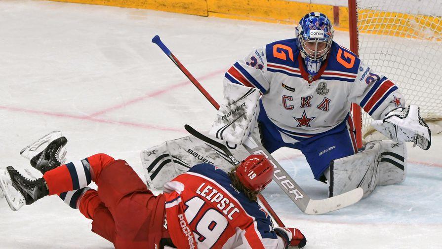 СКА переиграл ЦСКА в пятом матче серии плей-офф КХЛ