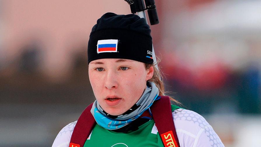 Биатлонистка Ушкина поблагодарила мужа за успехи в минувшем сезоне