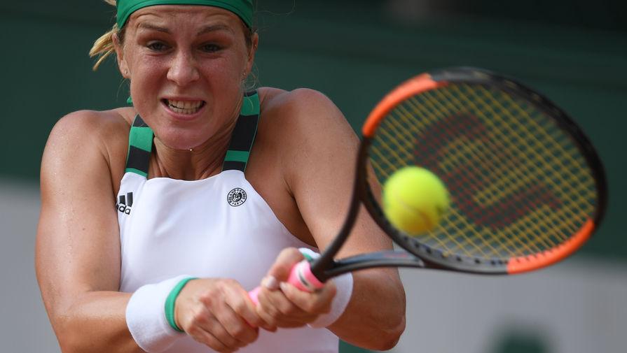 Последняя российская теннисистка вылетела с олимпийского турнира