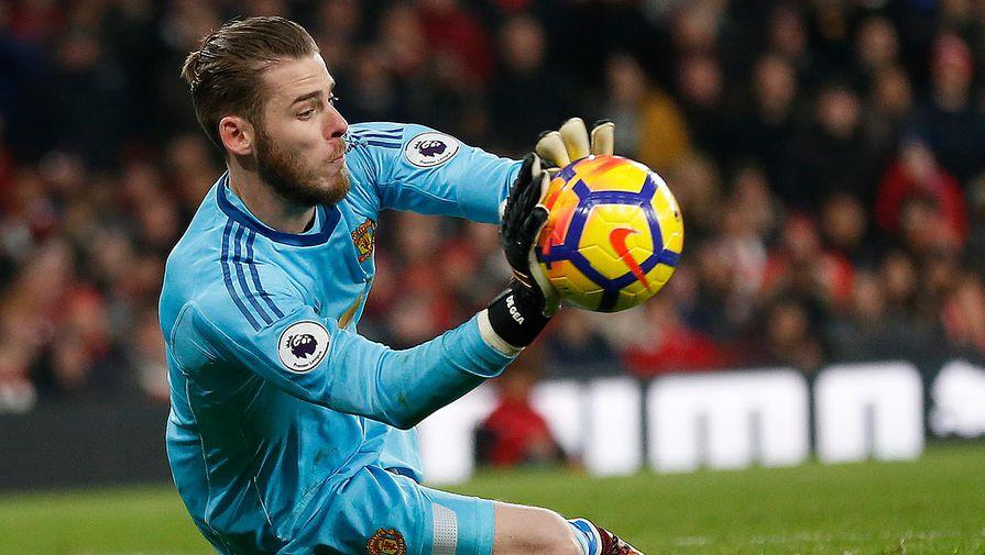 Вратарь 'Манчестер Юнайтед' отразил пенальти в АПЛ впервые за семь лет