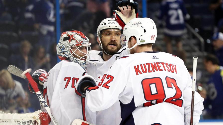 Пасы Кузнецова и Орлова не спасли 'Вашингтон' от поражения 'Бостону'